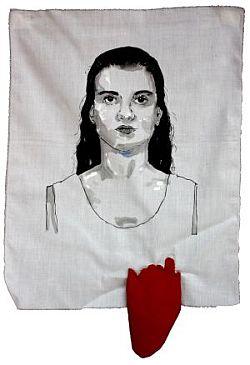 Rachel Leão, da série Remendando o tempo ponto por ponto, 2009